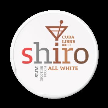 Shiro Cuba Libre Slim Normal Nicotine Pouches