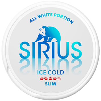 Sirius Ice Cold Slim Extra Strong Nicotine Pouches
