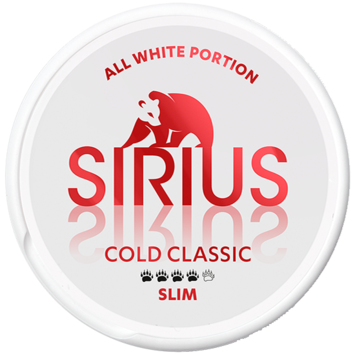 Sirius Cold Classic Slim Strong Nicotine Pouches