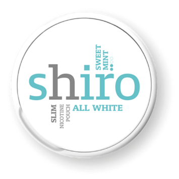 Shiro Sweet Mint Slim Strong Nicotine Pouches