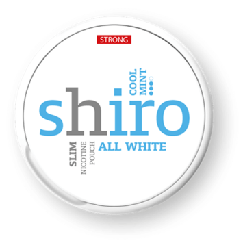 Shiro Cool Mint Strong Slim Extra Strong Nicotine Pouches