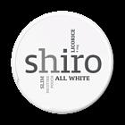 Shiro Licorice Slim Nicotine Pouches