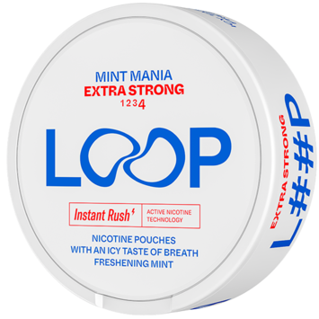 Loop Mint Mania Slim Extra Strong Nicotine Pouches