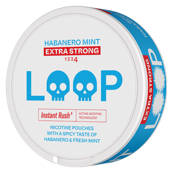 Loop Habanero Mint Slim Extra Strong Nicotine Pouches
