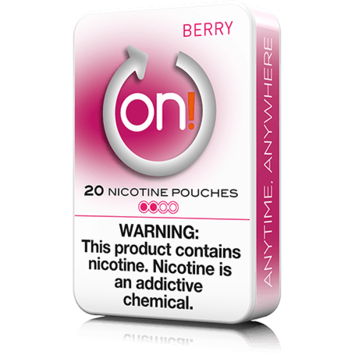 On! 2mg Berry Mini Dry Nicotine Pouches