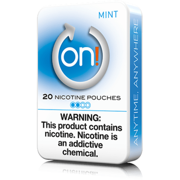 On! 2mg Mint Mini Dry Nicotine Pouches