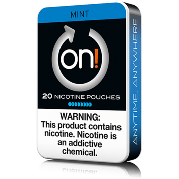 On! 8mg Mint Mini Dry Nicotine Pouches