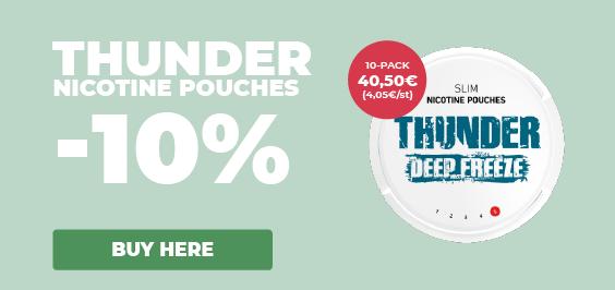 Thunder 10%