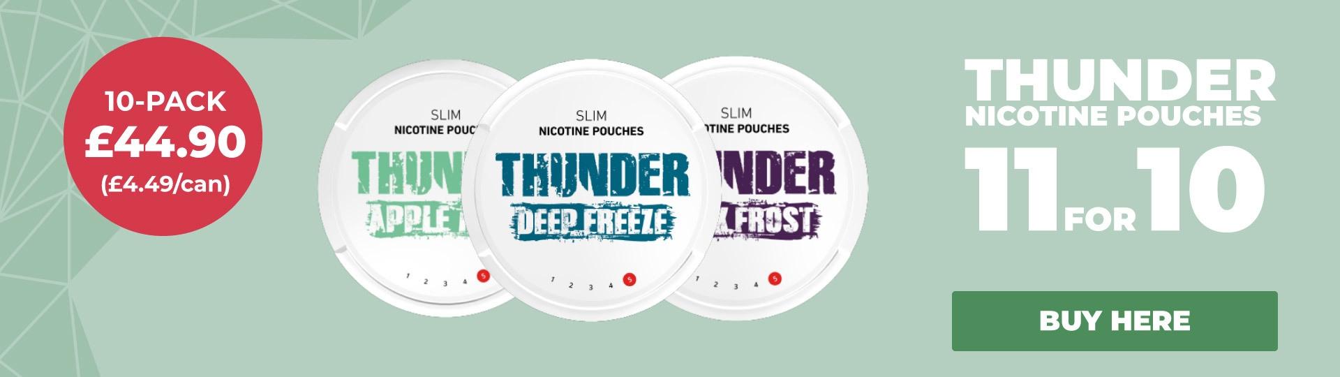 Thunder 11 for 10