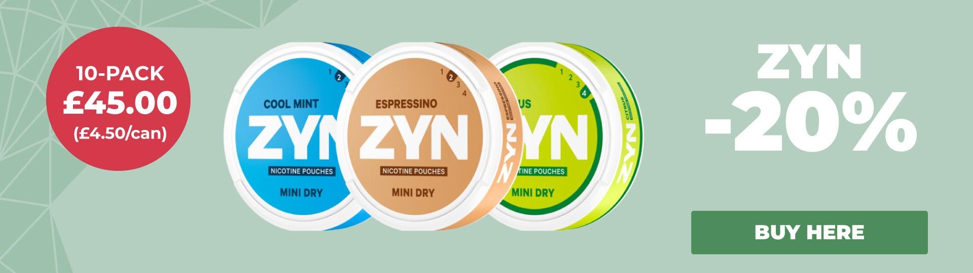 ZYN 20%