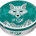 White Fox Double Mint Slim Strong Nicotine Pouches
