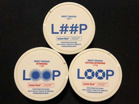 Loop Mint Mania Nicotine Pouches Produkttest