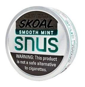 Skoal Smooth Mint Snus Produkttest