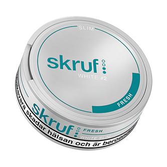 Skruf Slim Fresh White Produkttest
