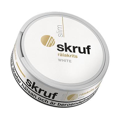 Skruf Slim Ralakrits White Snus Produkttest