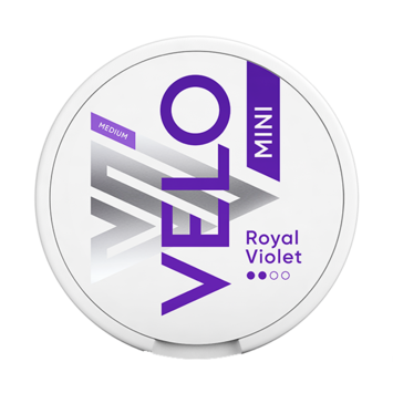 Velo Nano Royal Purple 6mg Nicotine Pouches
