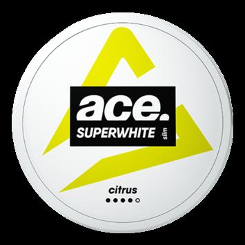 Ace Superwhite Citrus Slim Nicotine Pouches