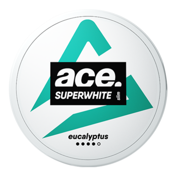 Ace Superwhite Eucalyptus Slim Strong Nicotine Pouches