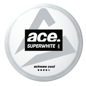 Ace Superwhite Extreme Cool Strong Nicotine Pouches