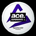 Ace Superwhite Licorice Mint Slim Nicotine Pouches