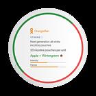 OrangeMan Apple + Wintergreen Xtreme Slim Nicotine Pouches