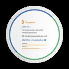 OrangeMan Menthol + Eucalyptus Xtreme Slim Nicotine Pouches