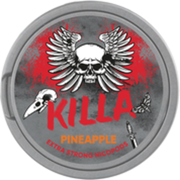 Killa Pineapple Slim Extra Strong Nicotine Pouches
