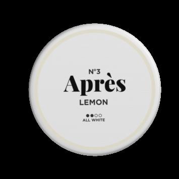 No.3 Après Lemon Original Normal Nicotine Pouches