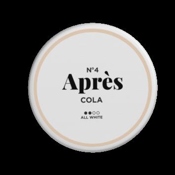 No.4 Après Cola Original Normal Nicotine Pouches