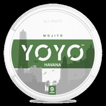 YOYO Havana Slim Nicotine Pouches