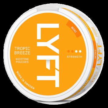 LYFT Tropic Breeze Mini Normal Nicotine Pouches