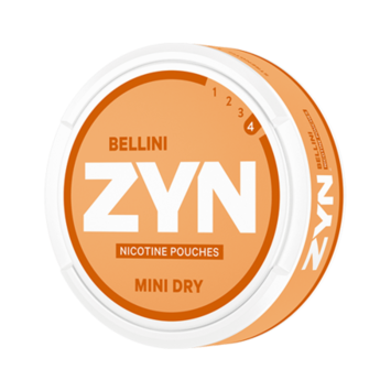 ZYN Mini Dry Bellini Extra Strong Nicotine Pouches