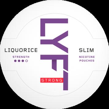 Lyft Licorice Slim Strong Nicotine Pouches