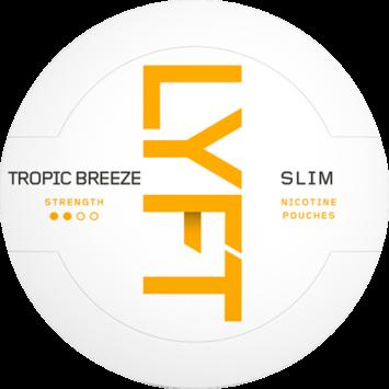 Lyft Tropic Breeze Slim Nicotine Pouches