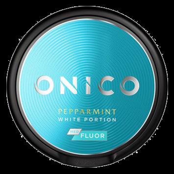 Onico Peppermint White Nicotine Free Swedish Snus