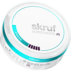 Skruf Super White Fresh #5 Slim Extra Strong Nicotine Pouches