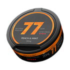 77 Peach & Mint Slim Extra Strong Nicotine Pouches