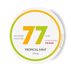 77 Tropical Mint Slim Extra Strong Nicotine Pouches