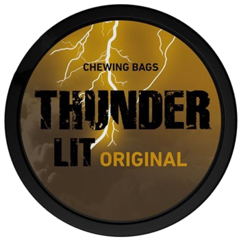 Thunder Lit Original Portion Extra Strong Chewing Bags