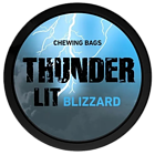 Thunder Lit Blizzard Portion Extra Strong Chewing Bags