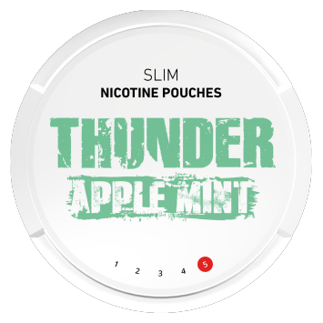 Thunder Apple Mint Slim Extra Strong Nicotine Pouches