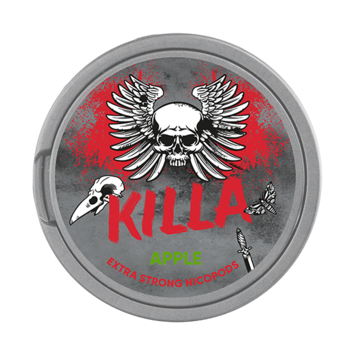 Killa Apple Slim Extra Strong Nicotine Pouches