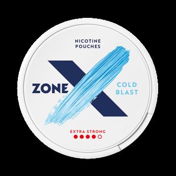 zoneX Cold Blast Slim Extra Strong Nicotine Pouches