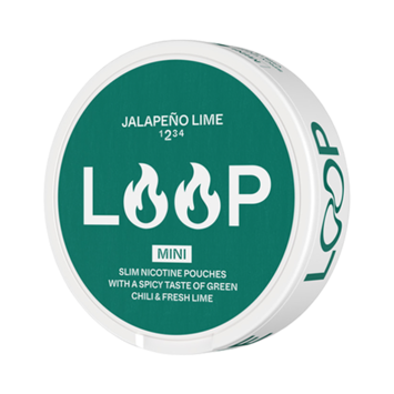 Loop Jalapeno Lime Mini Strong Nicotine Pouches