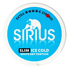 Sirius Ice Cold Slim White Dry Strong Chewing Bags