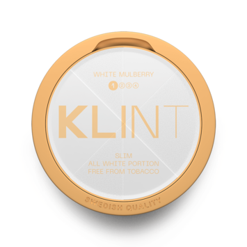 Klint White Mulberry Slim Normal Nicotine Pouches