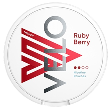 Velo 6mg Ruby Berry 6mg Original Nicotine Pouches