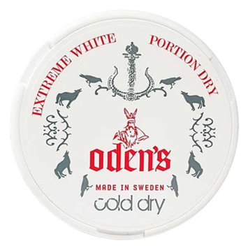 Odens Cold White Extra Strong Chewing Bags