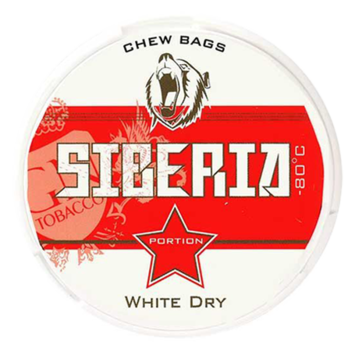Siberia White Extra Strong Chewing Bags