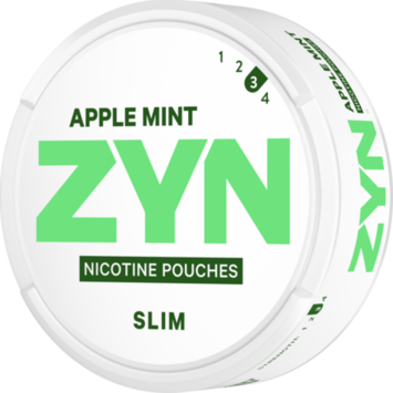 Zyn Apple Mint Slim Strong Nicotine Pouches